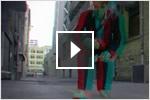 2D と 3D CAD のステレオスコピック (立体視) 仕上げ動画