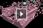 View video showing new MassFX mParticles capabilities in the extension for 3ds Max 2013