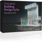 Autodesk Building Design Suite Standard 2013 is a building design program for designers, drafters and detailers.