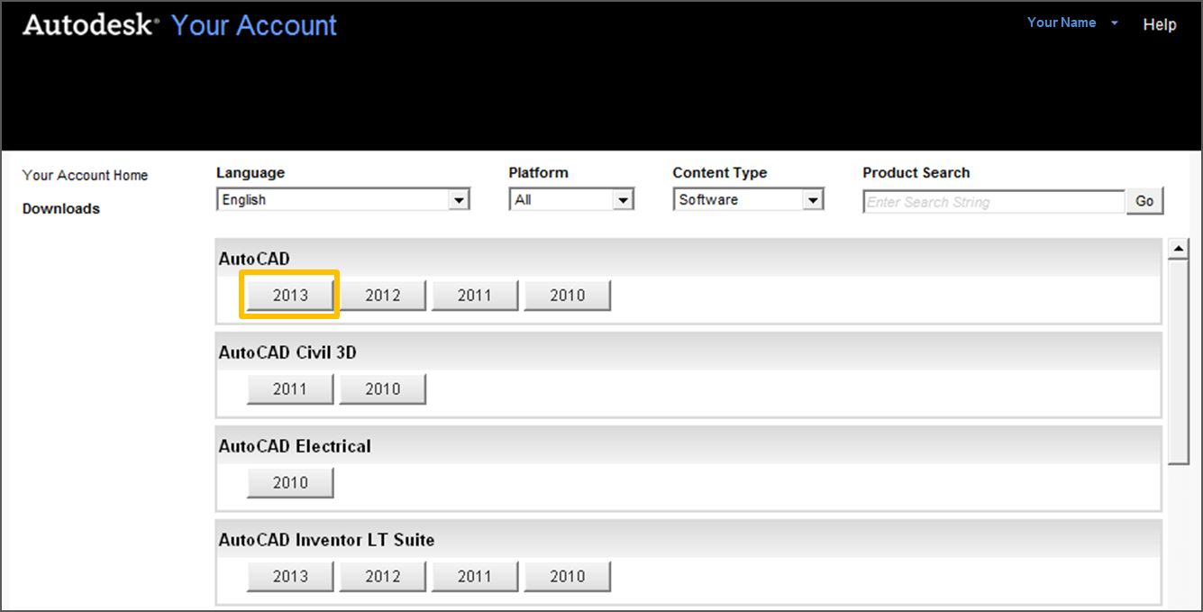 to find your serial number and product key in your Autodesk Account