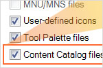 AutoCAD Architecture: Content & Catalog Browser Migration