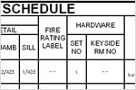 AutoCAD Architecture: Scheduling