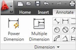 AutoCAD Mechanical: Powerful & Smart Dimensions