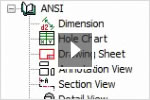 AutoCAD Mechanical: Support for International Drafting Standards