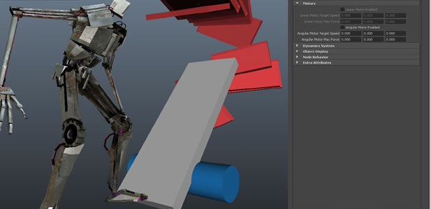 AMD Bullet Physics Engine Plug-in for Autodesk Maya