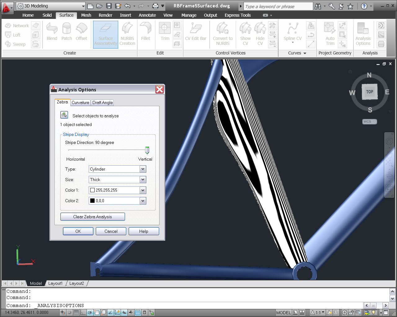 AutoCAD 2011 screenshot