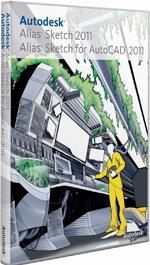 Autodesk Alias Sketch and Alias Sketch for AutoCAD design illustration software