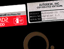 AutoCAD: First product ship disk
