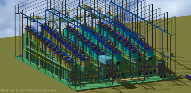Bateman Engineering uses the AutoCAD software platform for process plant design
