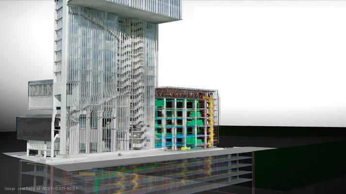 スペイン・バルセロナの救急病棟—設計過程で Revit Architecture、Revit MEPおよび Revit Structure を使用しました