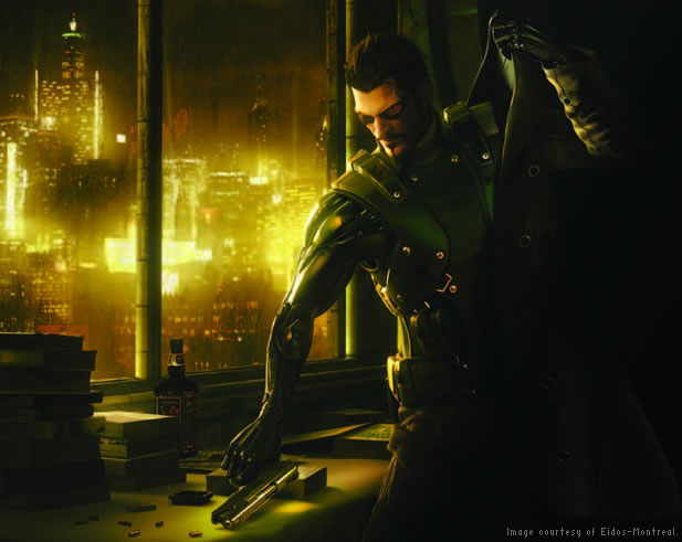 Eidos-Montreal uses Autodesk software to create a prequel to the Deus Ex video game