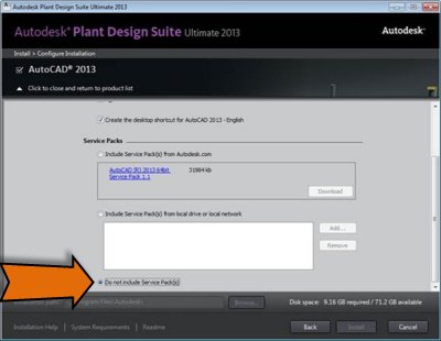 Autocad 2013 Service Pack 1