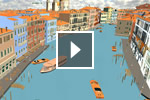 Video using Scene Assembly tools to create large, complex worlds using the extension for Autodesk Maya 2013