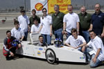 Cicero students use Autodesk Inventor software to design a hydrogen fuel cell car for the Shell Eco-marathon competition.