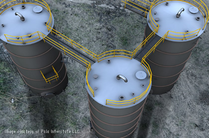 Pala Interstate uses Autodesk Intent and Autodesk Consulting services to streamline storage tank projects