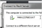 Connect Revit to Revit Server