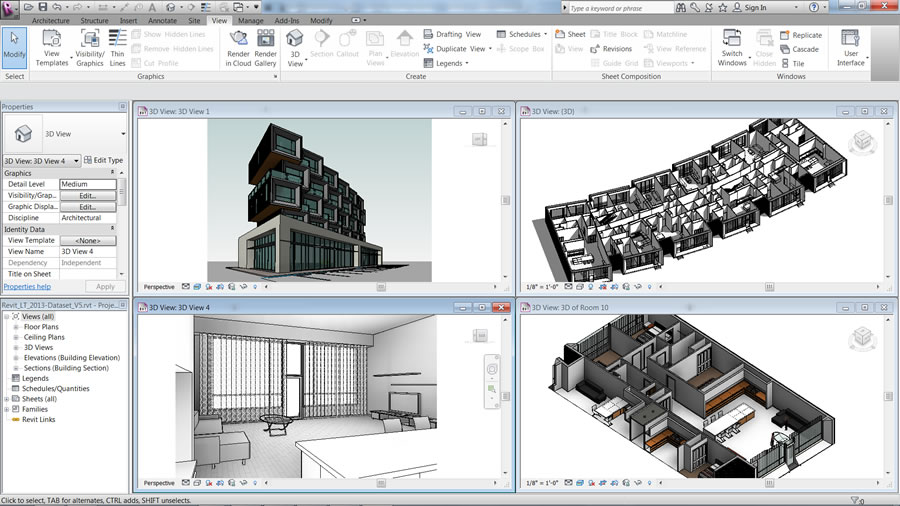 Autodesk Revit LT: Design and Visualize in 3D