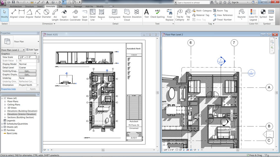 Autodesk Revit LT Screenshot