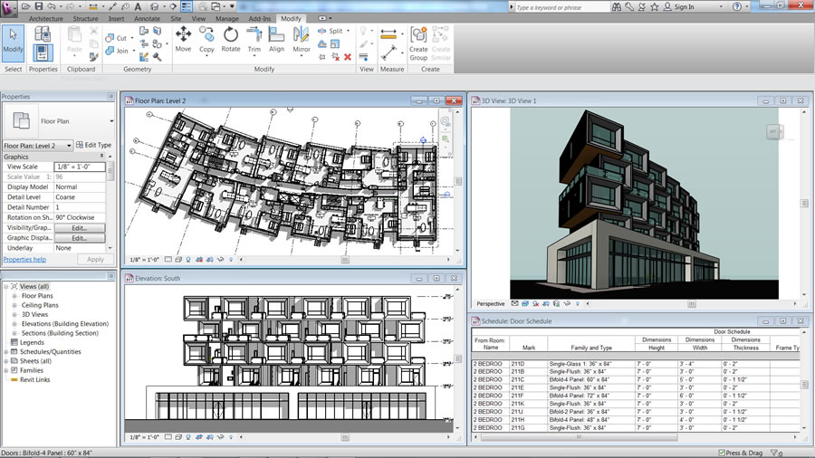 Autodesk Revit LT: Work More Efficiently with a Single, Coordinated Model