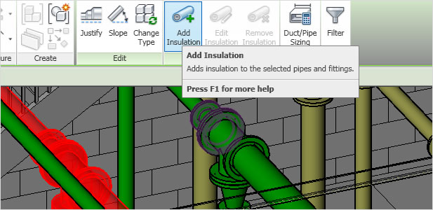 Autodesk Revit MEP: Duct & Pipe Insulation & Lining