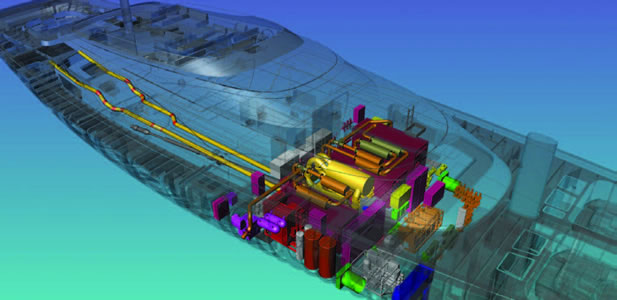 Dutch shipbuilder Royal Huisman uses AutoCAD P&ID piping design software.