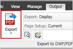 A free DWG to PDF converter that easily converts DWG files to Portable Document Format (PDF)
