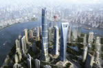 Autodesk Revit products, AutoCAD, Autodesk Consulting used to design and manage Shanghai Tower
