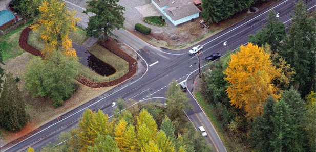 Snohomish County Public Works uses AutoCAD Civil 3D and Autodesk Vault software to design complex road realignment.