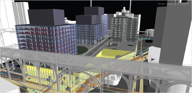 Stantec uses Autodesk BIM for Infrastructure solutions to help build a mixed-use structure for Columbia University