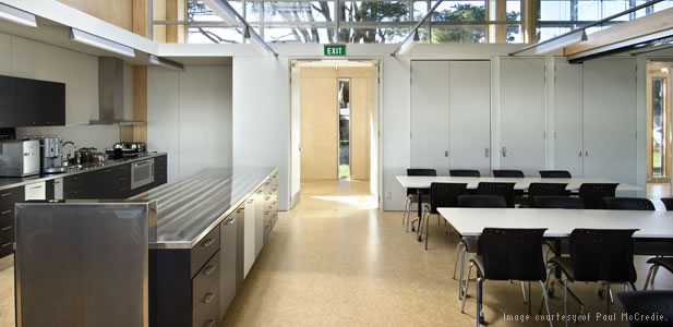 Cafeteria of New Zealand National Centre for Biosecurity and Infectious Disease