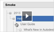 Smoke video tutorial: Toolbar and help