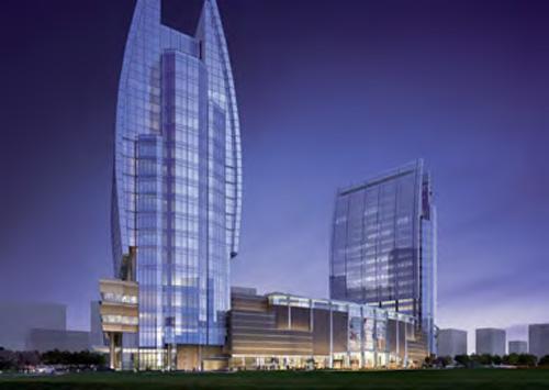 丁香路778号商业办公楼效果图-建筑 工程与施工成功案例 企业级 BIM