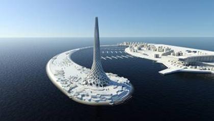 沙特阿拉伯阿卜杜拉国王科技大学的艺术景观设计