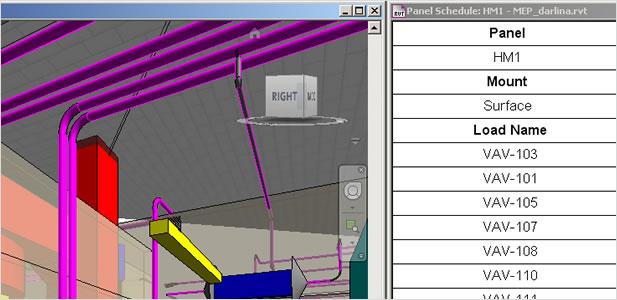 autodesk - autodesk revit mep - 配电盘明细表