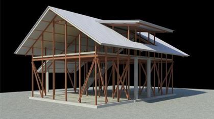 农村砖房设计图纸
