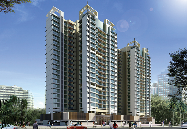 Modern architecture elevations of high rise residential for Best elevations residential buildings