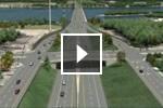 Autodesk 3ds Max を使用してモデリングされた土木エンジニアリング プロジェクトのビデオ