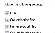 AutoCAD 2013 video tutorial: Customisation and support file sync (new feature)