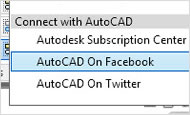 AutoCAD 2013 video tutorial: Social media sharing (new feature)