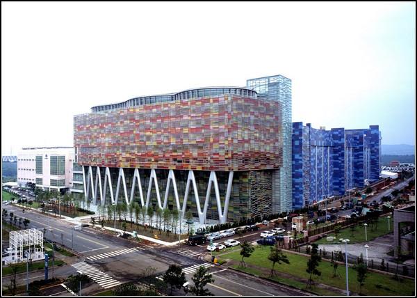 Завод по производству полупроводниковых элементов Inotera на Тайване