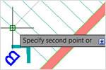 AutoCAD 2013: копирование массивом