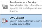 Учебный видеокурс по AutoCAD 2013: преобразование формата DWG