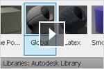 Учебный видеокурс по AutoCAD 2013: библиотека материалов