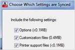 НОВИНКА: Синхронизация адаптированных настроек (только для Windows)