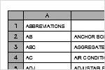 Организация информации в таблицах