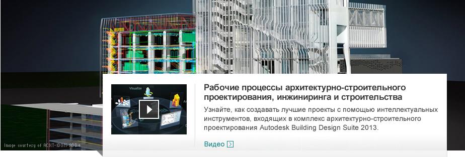Рабочие процессы архитектурно-строительного проектирования, инжиниринга и строительства