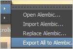 Autodesk Maya 2013: Alembic-Caching