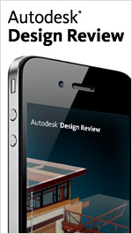 Autodesk Design Review mobile app 2012: Share and mark up DWF files on the go