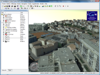 Marseille – Données 3D © IGN dans Autodesk LandXplorer®