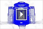 Vídeo de aprendizaje de AutoCAD 2013 sobre nubes de puntos